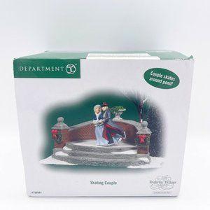 "Dept 56 Dickens' Village 'Skating Couple"" #799944"